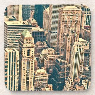 Edificios de New York City Posavasos De Bebida