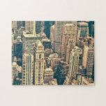Edificios de New York City Rompecabeza Con Fotos