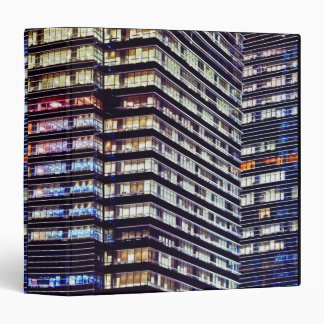 Edificios de oficinas en la noche, Singapur
