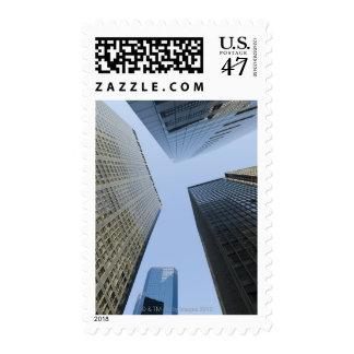Edificios de oficinas en Lower Manhattan Estampillas