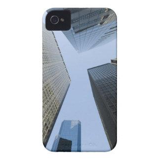 Edificios de oficinas en Lower Manhattan iPhone 4 Case-Mate Cárcasas
