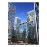 Edificios de oficinas modernos invitación 12,7 x 17,8 cm