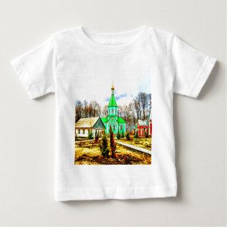edificios del monasterio de Rusia del voronezh de T-shirt