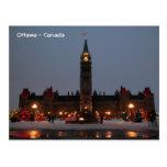 Edificios del parlamento, Ottawa Postal