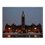 Edificios del parlamento, Ottawa Tarjetas Postales
