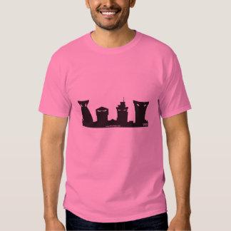 Edificios Disney de Toontown Camisas