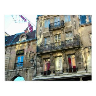 Edificios elegantes en Dijon Borgoña Francia 1 Tarjetas Postales
