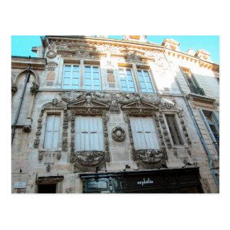 Edificios elegantes en Dijon, Borgoña, Francia Tarjetas Postales