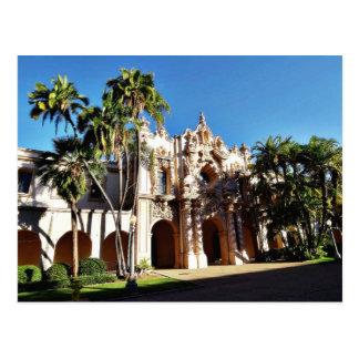 Edificios en el Prado en el parque San Diego del b Tarjetas Postales