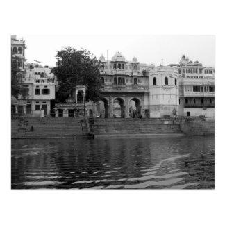 Edificios en Udaipur la India Postales