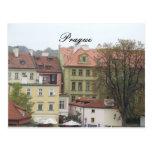 Edificios hermosos de la República Checa de Praga  Tarjeta Postal
