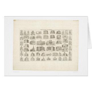 Edificios públicos de San Francisco (1372A) Tarjeta De Felicitación