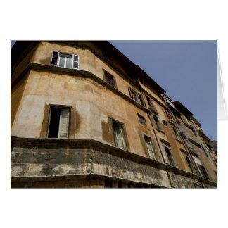 Edificios resistidos, Roma, Italia 2 Tarjeta De Felicitación