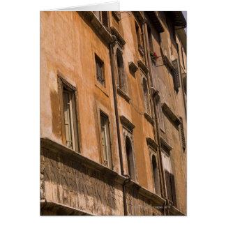 Edificios resistidos, Roma, Italia 3 Tarjeta De Felicitación