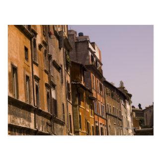 Edificios resistidos, Roma, Italia Tarjeta Postal