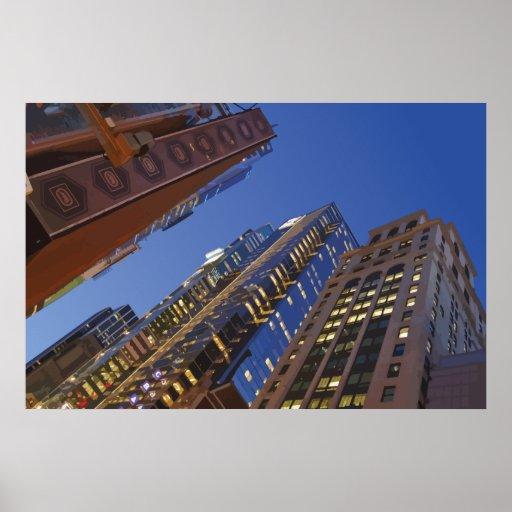 Edificios verticales 0749 poster