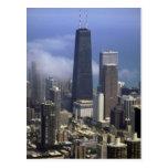 Edificios, visión desde el top de Torre Sears, Chi Postal
