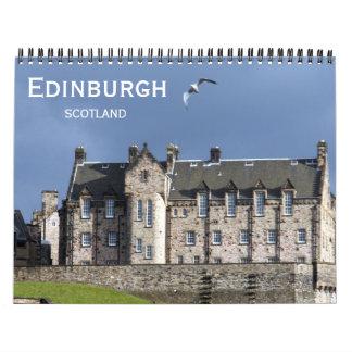 Edimburgo Calendario De Pared