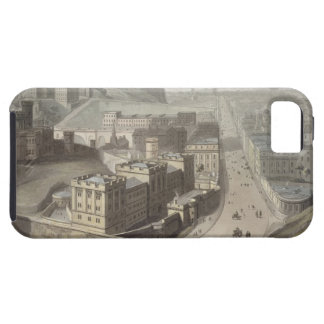 Edimburgo de la colina de Calton de un viaje al iPhone 5 Coberturas