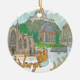 Edimburgo Ornamento Para Reyes Magos