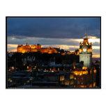 Edimburgo Escocia Tarjeta Postal