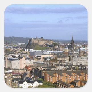 Edimburgo, Escocia. Una central de desatención de Pegatina Cuadrada
