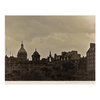 Edimburgo - milla real tarjeta postal