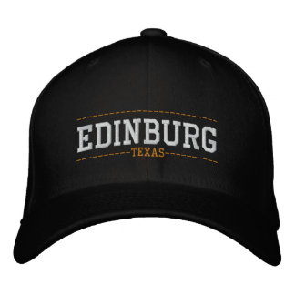 Edinburg Texas USA Embroidered Hats