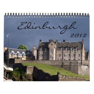 edinburgh 2012 calendar