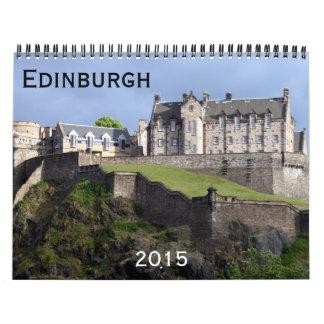 edinburgh 2015 wall calendars