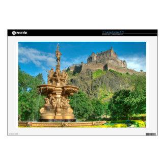 Edinburgh Castle 9082 Laptop Decal