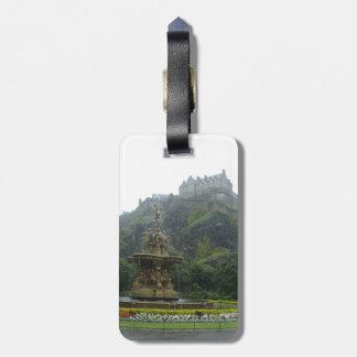 Edinburgh Castle Bag Tag