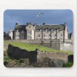 edinburgh castle bird mouse pads