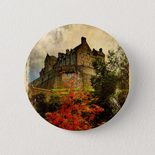 Edinburgh Castle Button