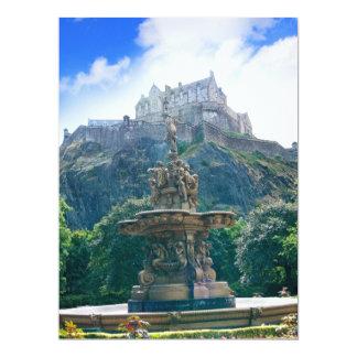 Edinburgh Castle Customize Product Card