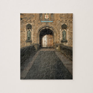 Edinburgh Castle entrance, Edinburgh, Scotland Jigsaw Puzzle
