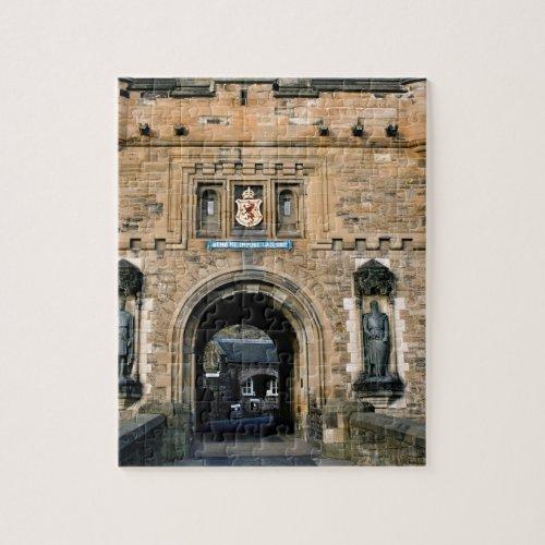 Edinburgh Castle entrance Jigsaw Puzzle