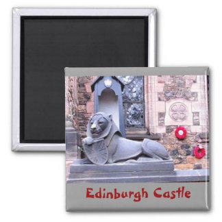 Edinburgh Castle Fridge Magnet