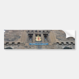 Edinburgh Castle Gatehouse Bumper Sticker