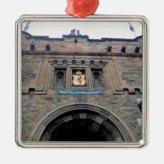 Edinburgh Castle Gatehouse Metal Ornament