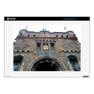 Edinburgh Castle Gatehouse Skins For Laptops