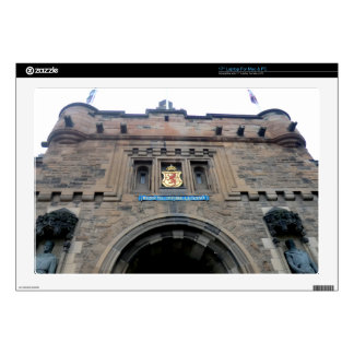 "Edinburgh Castle Gatehouse 17"" Laptop Skin"
