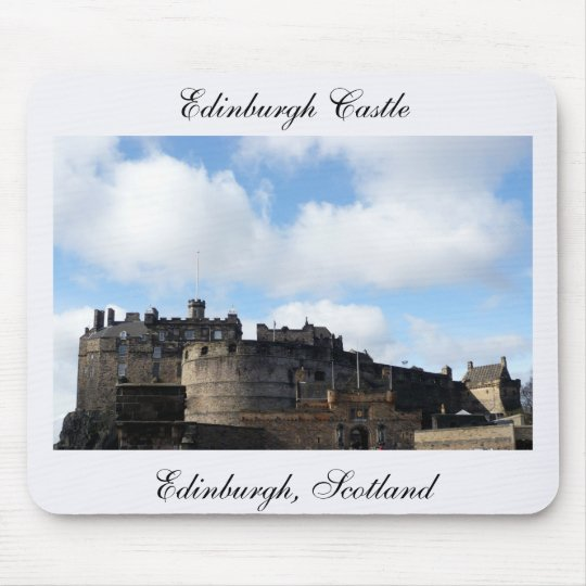 Edinburgh Castle in Scotland Mouse Pad