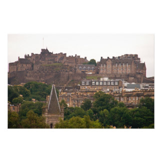 Edinburgh Castle in the Distance Stationery Design
