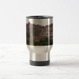Edinburgh Castle in the Distance Travel Mug