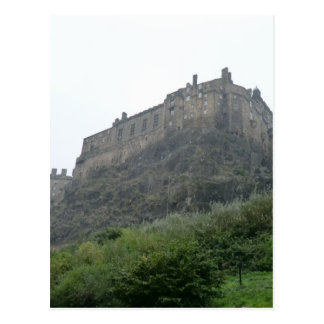 Edinburgh Castle in the Mist Postcard