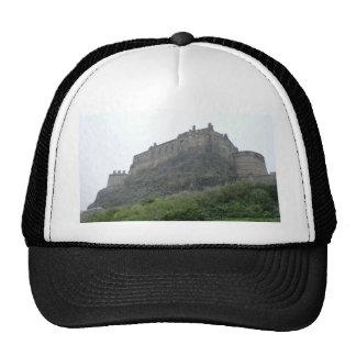 Edinburgh Castle in the Mist Trucker Hat