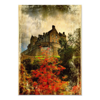 Edinburgh Castle Invite (Small)