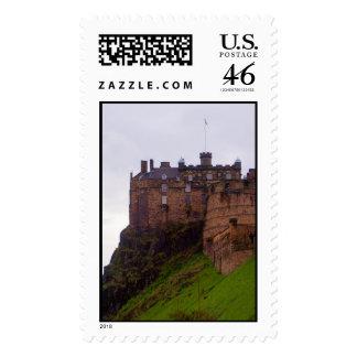 Edinburgh Castle Postage Stamps