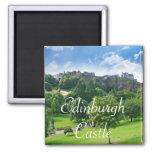 Edinburgh Castle, Scotland 2 Inch Square Magnet